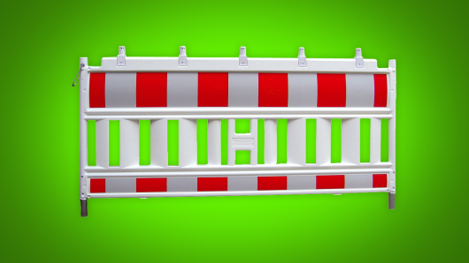 Cabinet fence (Euro 1 plastic)